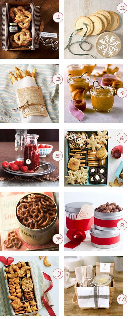 ideas de regalos gourmet caseros homemade editable gifts