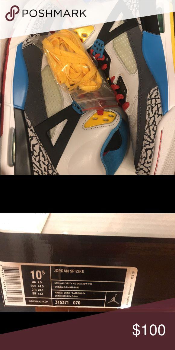 ‼️Brand new with box Jordan Spizike‼️ Size 10.5 Brand new with box  Jordan Spizike Jordan Shoes Athletic Shoes