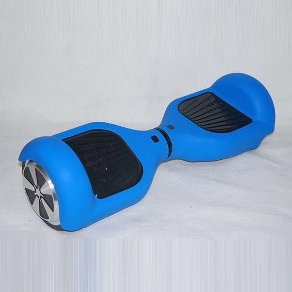 6.5 2 Wheels Smart Self Balancing Scooter Hoverboard Shell Silicone Balance Hover Board Protector Case Cover Blue