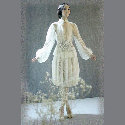 MY COLLECTION Авторская работа Блузка из фатина с вышивкой иск. жемчугом орнаментом. Юбка из кружевного полотна. Ободок из иск. жемчуга. Коллекция 2015 г. #couture #paris #ss15 #lookbook #image #style #fashionweek #pfoto #fashionissue #art #creative #dress #красота #глянец #образ #стиль #фото #творчество #искусствомоды #высокоеискусство #ручная_работа #украшение #embroidery #my_collection # авторская_работа