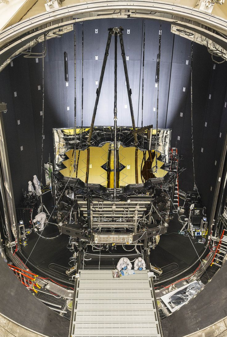 THE MOST AMAZING SPACE PHOTOS THIS WEEK! NASA's James Webb Space Telescope (JWST) entered a testing facility at Johnson Space Center in Houston on Tuesday (June 20), where it will spend the next three months in a freezing-cold vacuum. The facility, named Chamber A, will simulate the environment of space with a temperature of minus 393 degrees Fahrenheit (minus 236 degrees Celsius). JWST will replace the Hubble Space Telescope as the most powerful space telescope ever built. [October 2018]