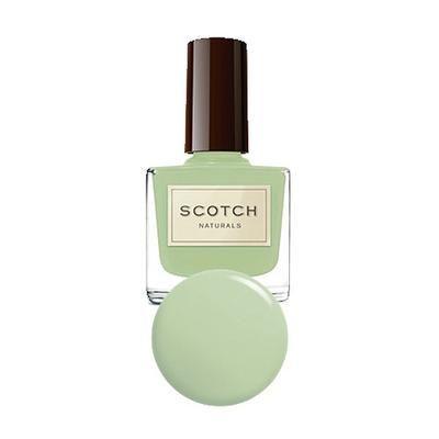 Scotch Naturals Celtic Mix mintgrønn - Gå sommeren i møte med vakre, fargerike og sunne negler! Scotch naturals tilbyr en helt naturlig neglelakk uten skadelige miljøgifter - velg mellom mange farger!