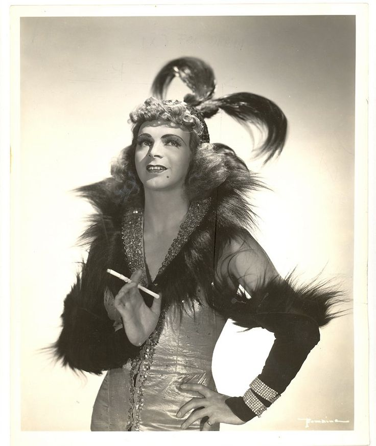 Vintage Drag Queen photographs--Francis Renault