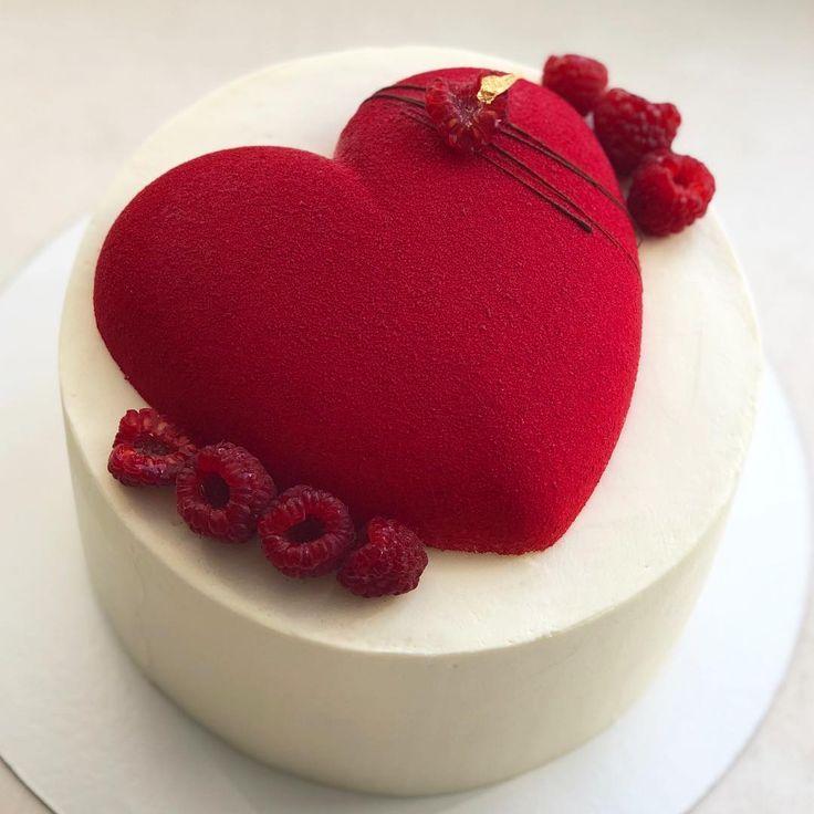 Картинка торт сердечком