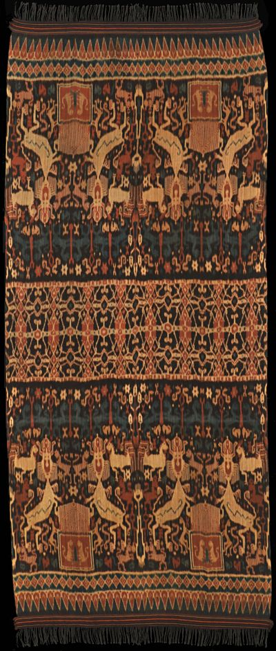Ikat from East Sumba, Sumba, Indonesia 1930 - 1940