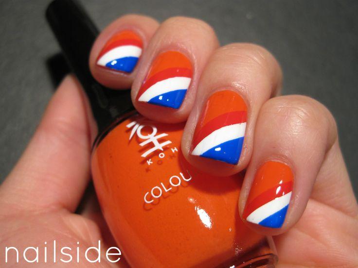 Nailside: Queen's Day 2012 Retroooo good