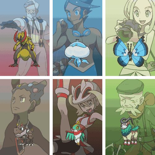 Gym Leaders (Fixed: added all the leaders) - Imgur