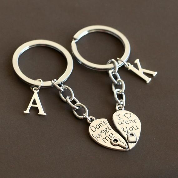 I Love You Keychain Heart Keychain Lock And Key Keychain Etsy Heart Keychain Keychain Key Keychain