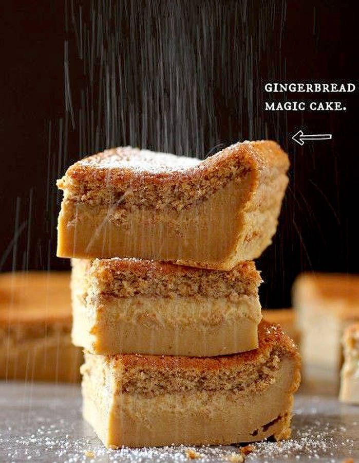 Gâteau magique au pain d'épices