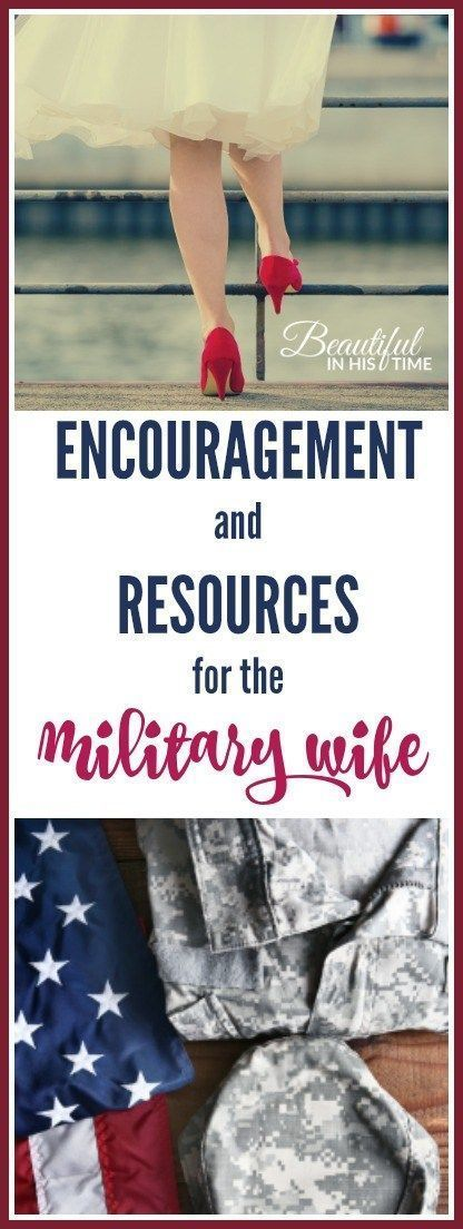 Encouragement and resources for the military wife: from my six years as an active duty army wife & veteran wife - army wife - military spouse - milspouse #milspouse