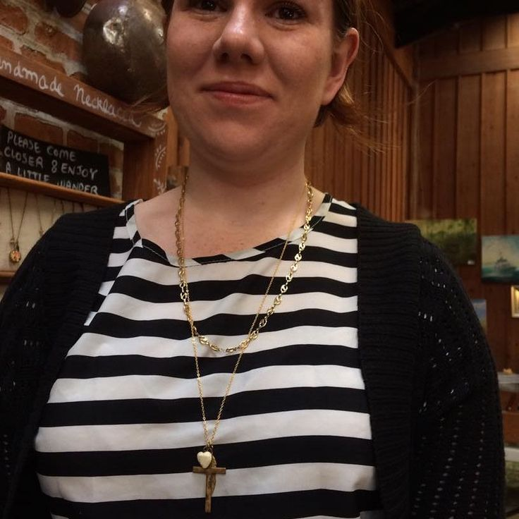 "4 Likes, 1 Comments - Nostalgems (@nostalgems) on Instagram: ""Last week's customer layering her necklaces. #nostalgems #jewellerynz #customnecklace"""