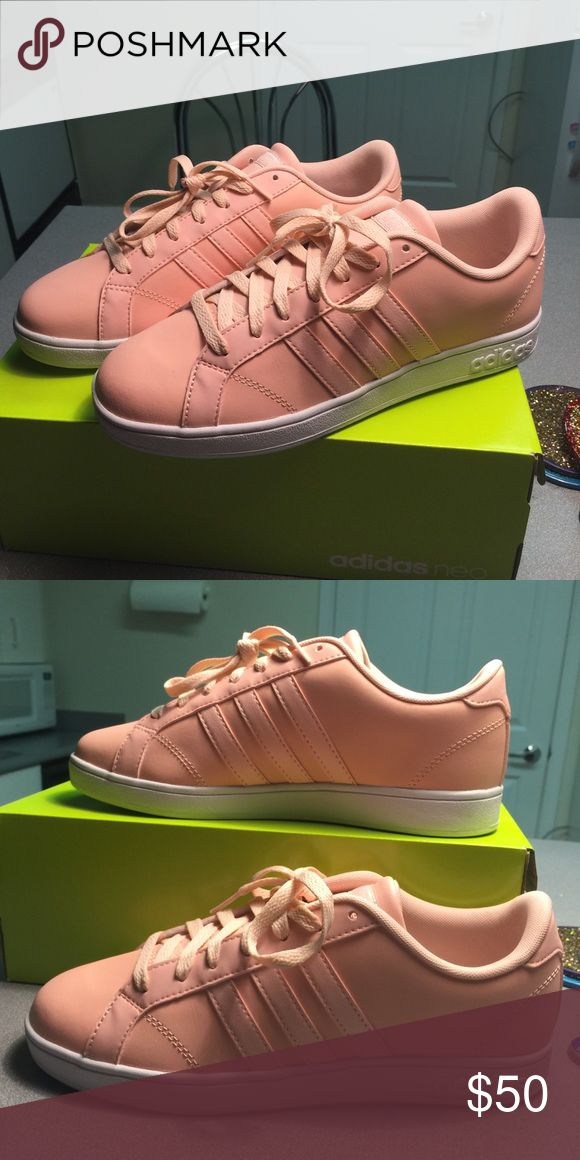 Rose Gold Adidas Baseline Shoes Brand new never been worn rose gold adidas baseline shoes!!! Adidas Shoes Athletic Shoes