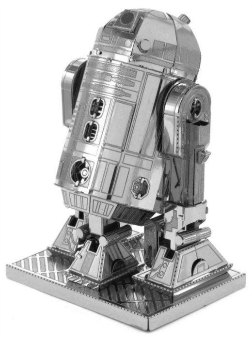 3D kovové puzzle METAL EARTH Star Wars: R2-D2 Vše s motivem #STAR WARS #hračky #oblečení #hry #kostýmy #knížky #omalovánky #samolepky #tapety #plakáty #rolety #závěsy #povlečení #Hvězdné #války #narozeniny #párty #občerstvení #tip3dmamablog