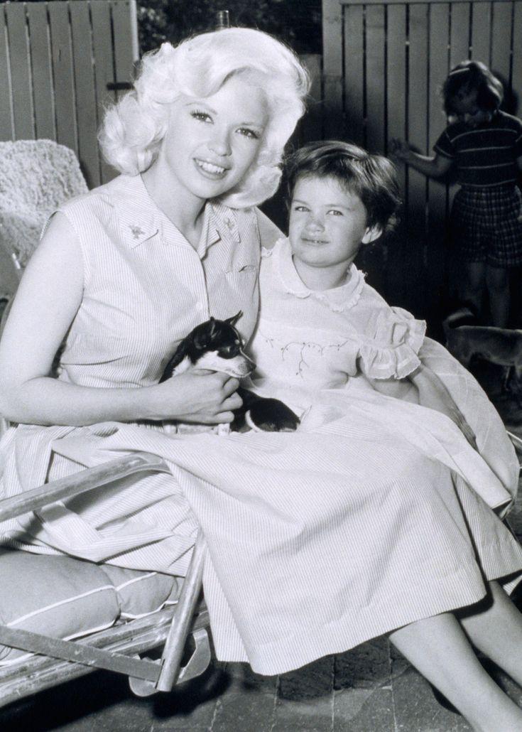 Jayne Mansfield & daughter Mariska Hargitay