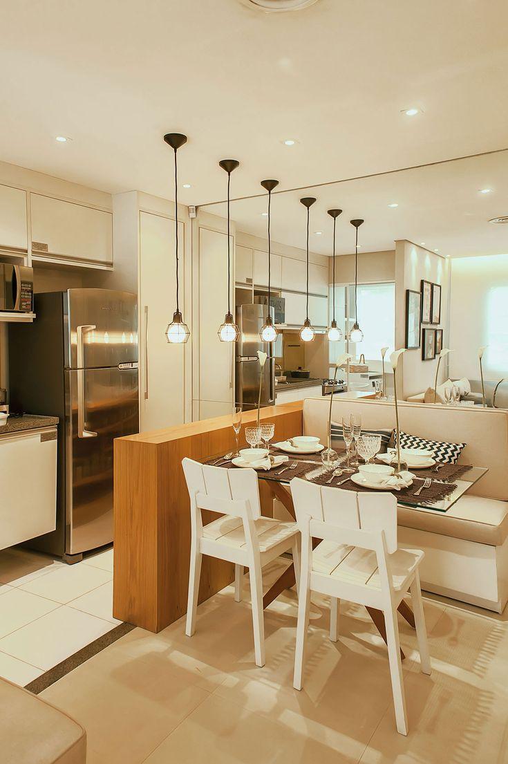 Sala De Jantar Banco Em L ~  de cozinha no Pinterest  Bancos de balcão, Cozinha com bancos de bar