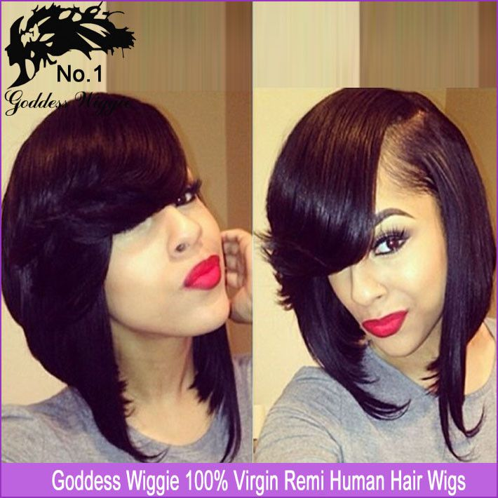 ... Sew-In Bob on Pinterest - Bobs, Virgin hair extensions and Full sew in