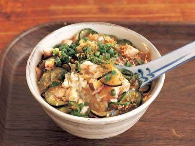 ぶっかけご飯 冷や汁風レシピ 講師はケンタロウさん 使える料理レシピ集 みんなのきょうの料理 NHKエデュケーショナル