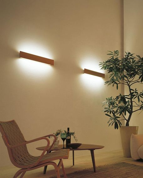 LED 間接照明 ウッド調ブラケット ODELIC (吹き抜け)