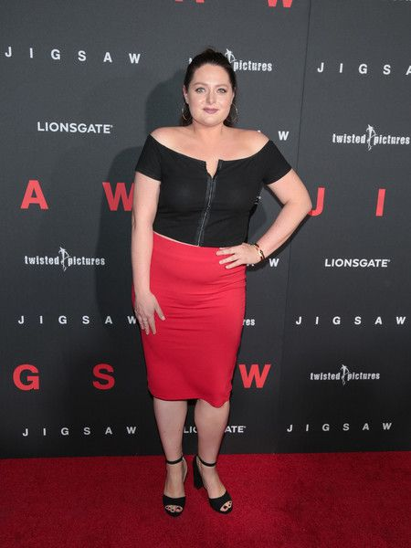 Lauren Ash is seen attending the premiere of Lionsgate's 'Jigsaw' at ArcLight Hollywood in Los Angeles, California.