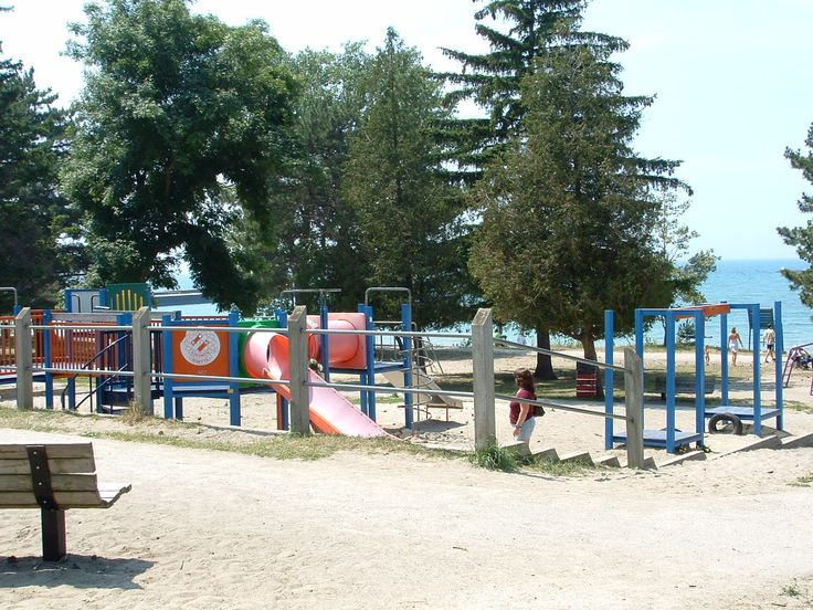 McPherson Park in Kincardine, ON. This is a popular lakeside children's park that also features tennis courts and a beautiful shoreline boardwalk. Neighbouring Dunsmoor Park is popular for picnics and musical gatherings.
