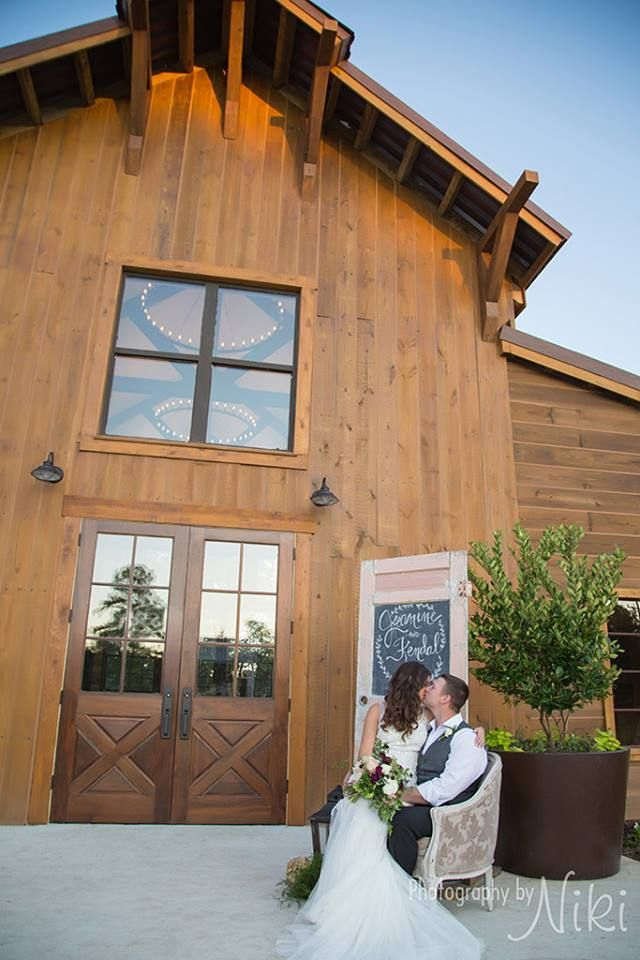 An outside look at our Reception Barn  Big Sky Barn  13420 Forest Lane Montgomery, TX 77356