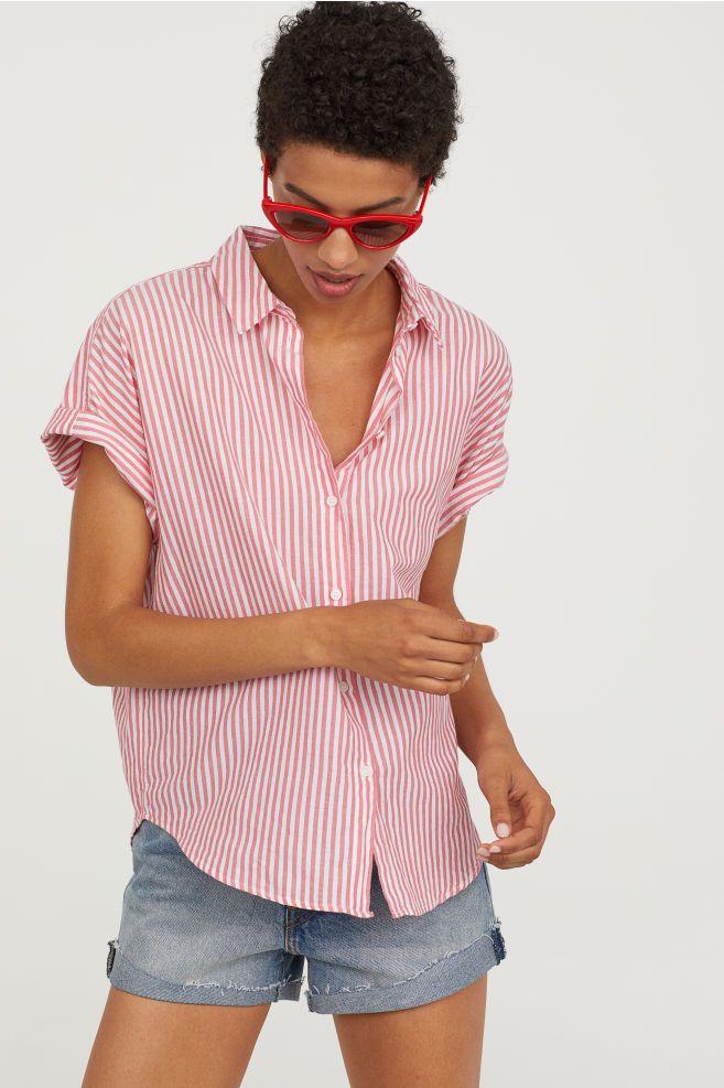 e2c81cc514e9 Short-sleeved Cotton Shirt
