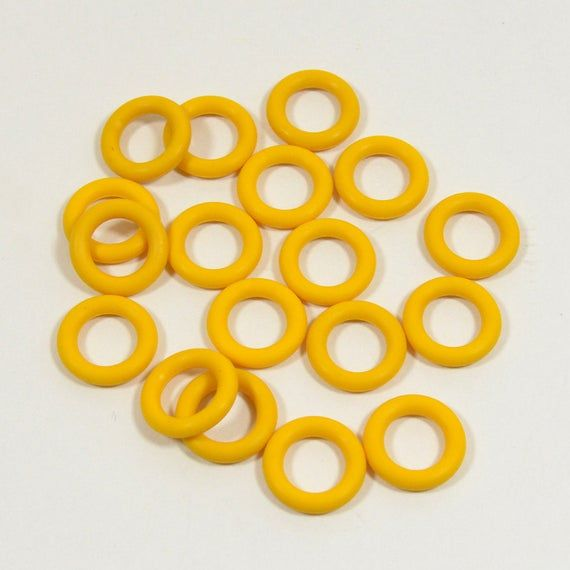 10mm Buttercup Rubber O Rings O Ring Rings Buttercup