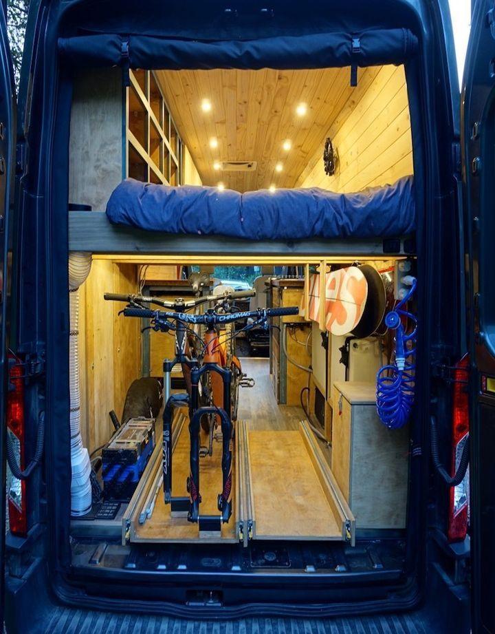 Diy Camper Van Cost Just 18k To Build Curbed Diy Van Conversions Diy Camper Van Interior