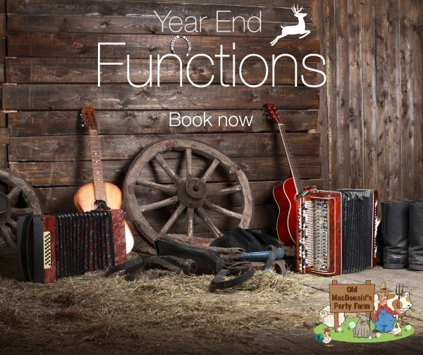 Book one or more of our party barns for your function. We can handle groups from 30 – 1000 people in your own venue with décor, seating and facilities included. Catering and bar can be bring your own or we can arrange for you. We provide a blank canvas for your imagination to run wild – request a quote based on your requirements.