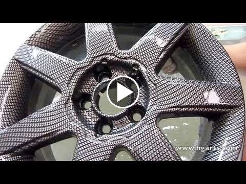 Water Transfer Printing - Amazing! So thinking of doing my rims on my Honda!!