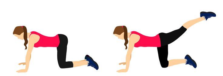 Tréninkový plán s 5 cviky na všechny svaly Vašeho zadečku | Blog | Online Fitness - živé fitness lekce, cvičení doma pod vedením trenérů