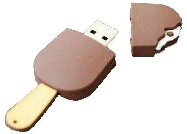Clé USB glace esquimo chocolat - Gadget USB - 2GO