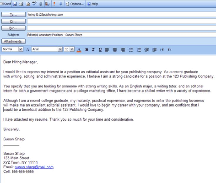 6 Easy Steps for Emailing a Resume and Cover Letter: How to Email Cover Letter and Resume Attachments