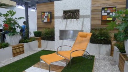 Grand Designs Live 2013 - Show Garden Winner - Home and Gardening were very pleased to interview this years winner of the Garden Awards at  Grand Designs Live 2013. View images of the garden and listen to our interview with Christine Wilkie talking about her small city, eco- garden design.