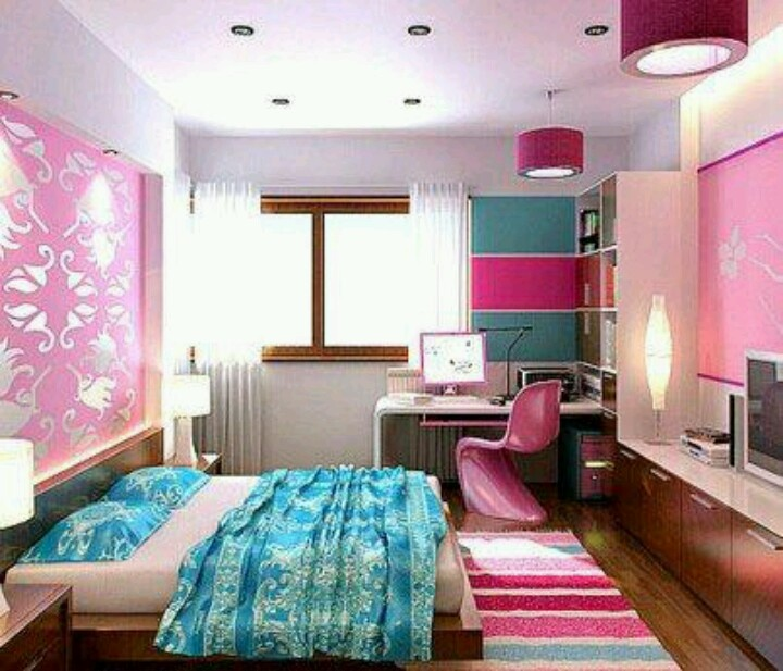 Blue And Pink Bedroom > PierPointSprings.com