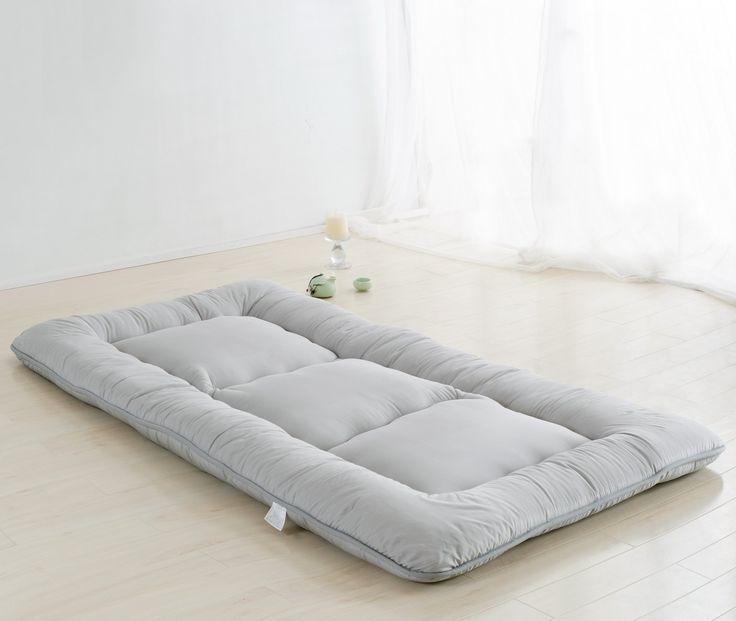 Colorful mart light grey futon tatami mat japanese futon