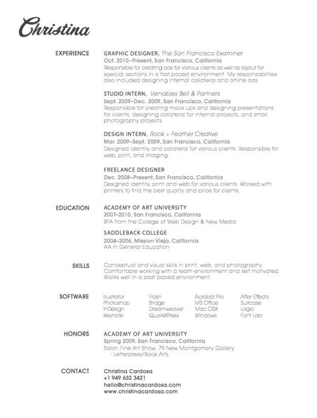 User Experience Consultant Sample Resume. 79 Best Resume Design Images On  Pinterest Resume Design, Design. Finance Manager Resume Example Template  Director ...  Beautiful Resume Designs