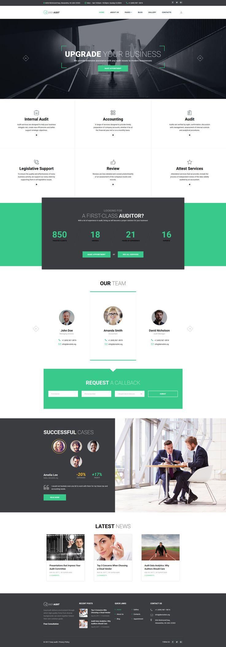 Business Responsive Joomla Template 34 best Joomla