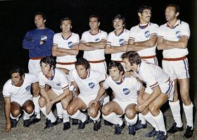 CD Nacional of Montevideo, Uruguay team group in 1971.