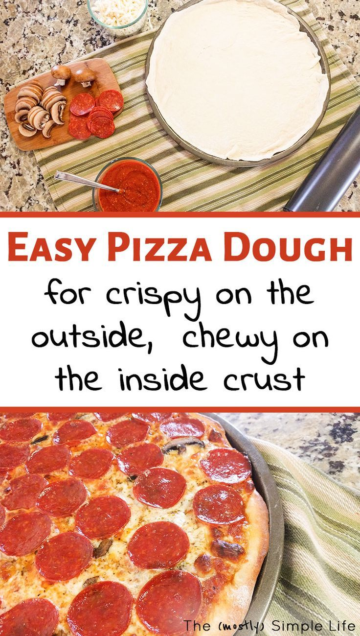 Pizza Night The Best Homemade Pizza Dough Best Homemade Pizza Pizza Recipes Dough Pizza Dough Recipe Quick
