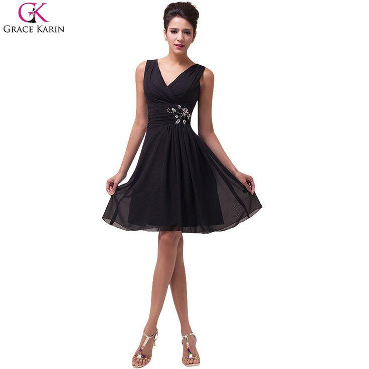 Black cocktail dress for the most pleasant evening 😉Want to buy? Click on the image! | Черное коктейльное легкое платье для самого приятного вечера 😉Хочешь купить? Нажми на изображение!
