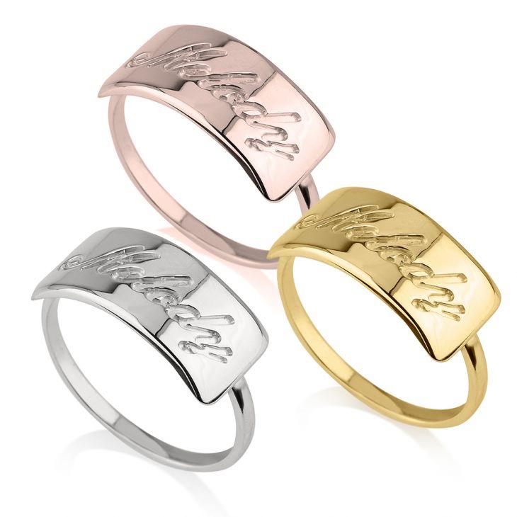 Name Bar Ring