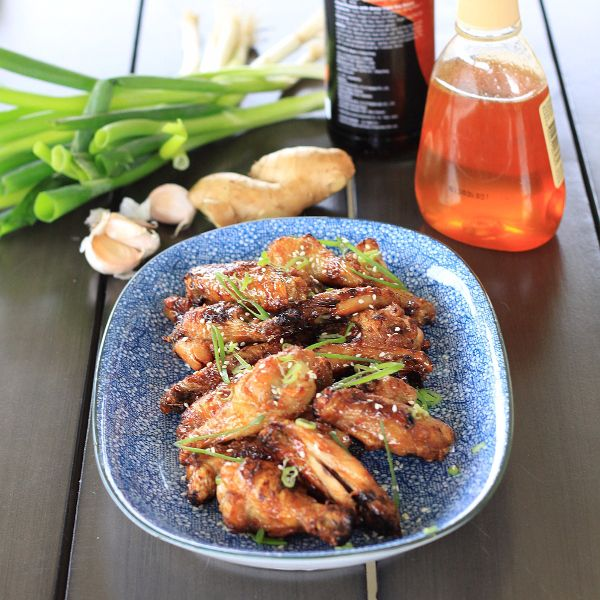 Crispy Sweet Get Your Hands All Sticky Honey Soy Chicken Wings