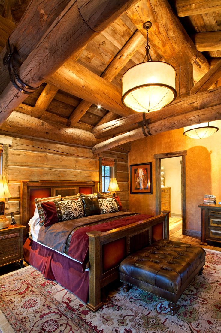25 Best Ideas About Log Cabin Bedrooms On Pinterest Log Cabin Plans Log Cabin House Plans