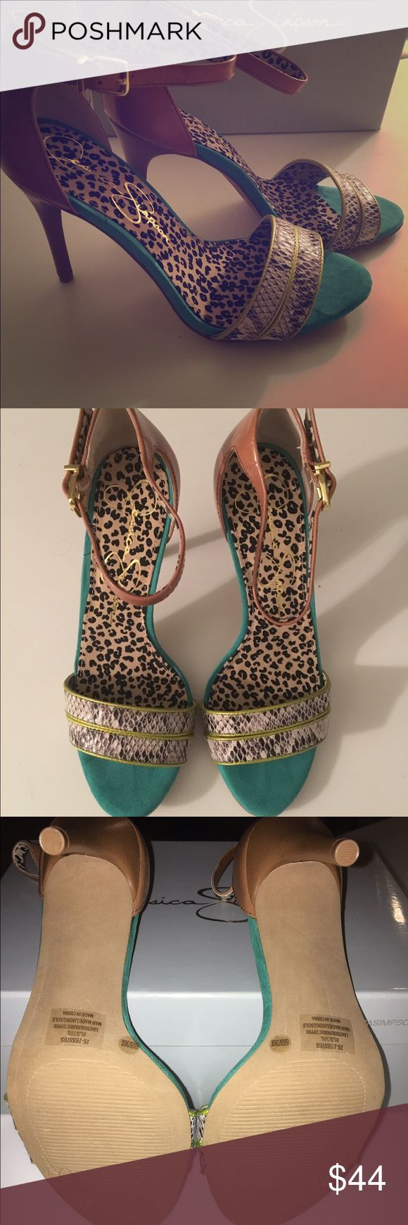 Jessica Simpson heels Brand new never worn Jessica Simpson heels. Jessica Simpson Shoes Heels
