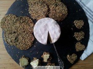 Krokante 'pittige' crackers met sesam 7 november 2014 - 11:01 Broodachtigen, Recepten, Vegetarisch