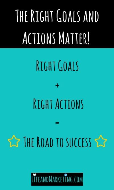 Are you on the road to self-improvement? Review your goals and actions because they might not line up with your quest for self-improvement.