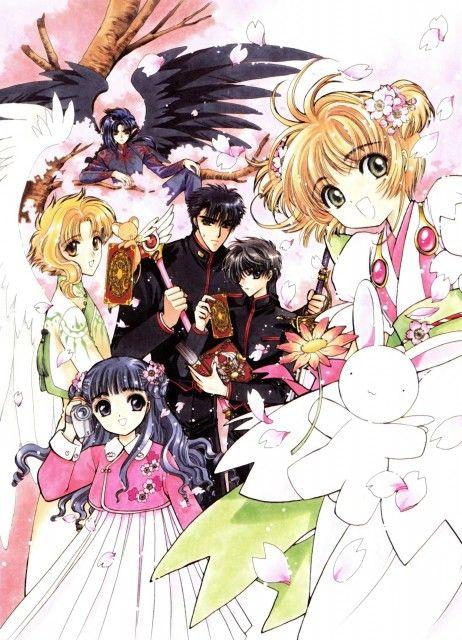 CLAMP crossover with Wish, X and Cardcaptor Sakura