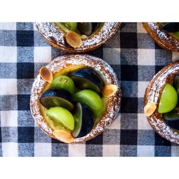 オパンのブドウのデニッシュ(2016.09.30) | OPAN オパン|東京 笹塚のパン屋