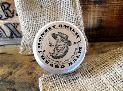 "Honest Amish Beard Balm ""The best for your Beard"""